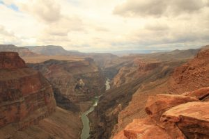 View of Colorado River in Grand Canyon
