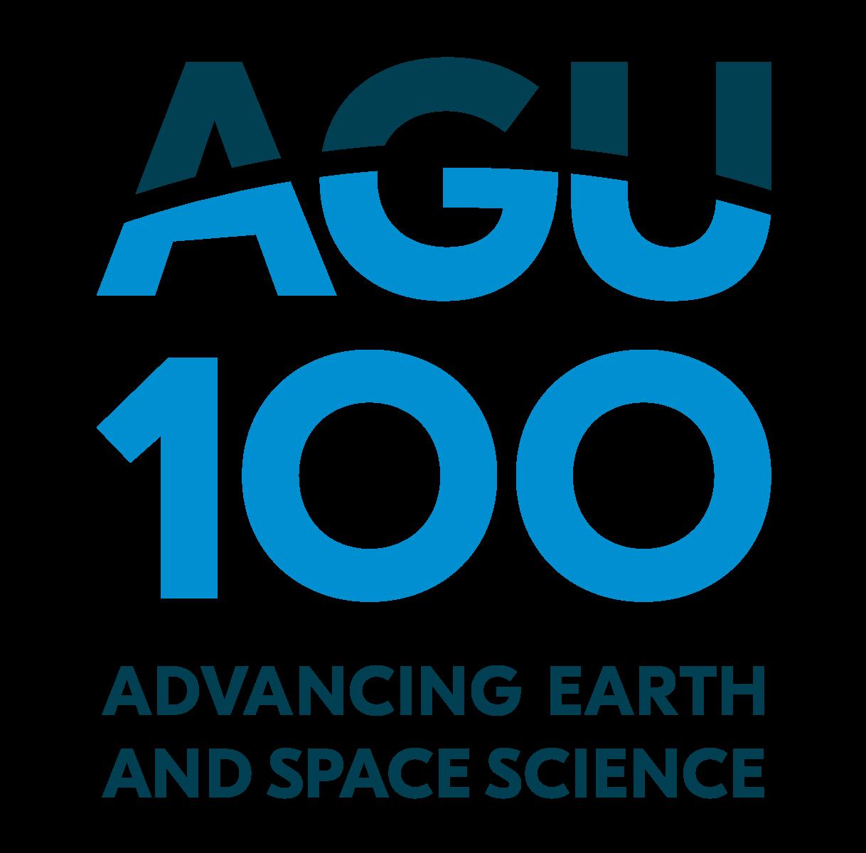 AGU Centennial Logo Advancing Earth and Space Science