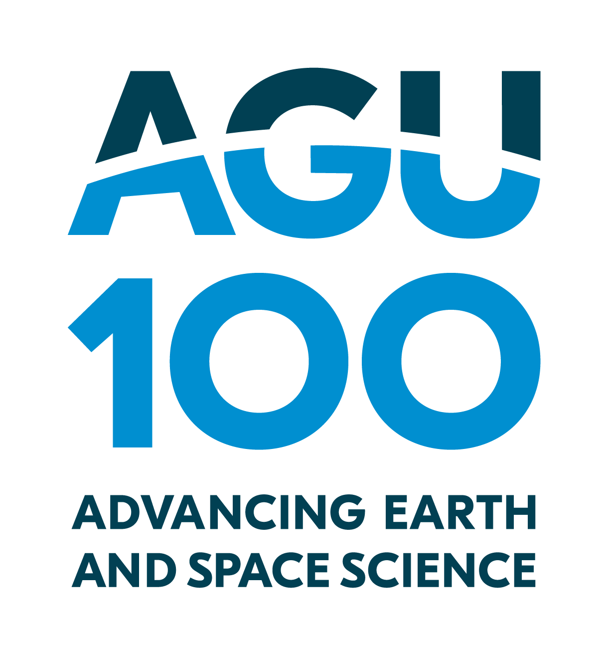 AGU Centennial Logo Advancing Earth and Space Science
