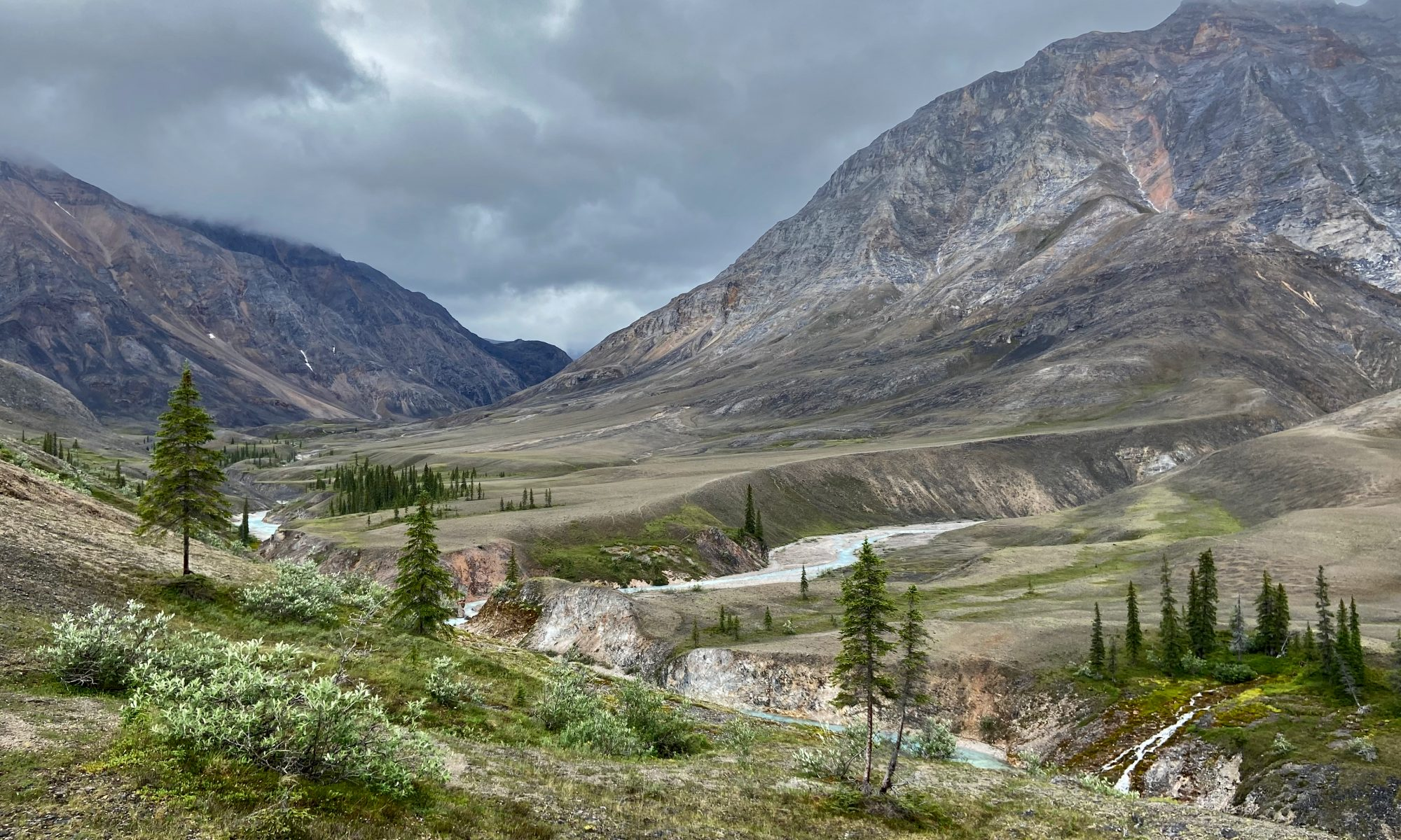 photo of the Brooks Range in Alaska